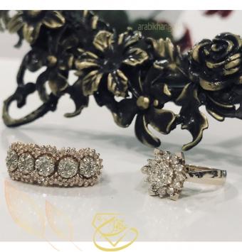 انگشتر جواهر فلاور سلطنتی2