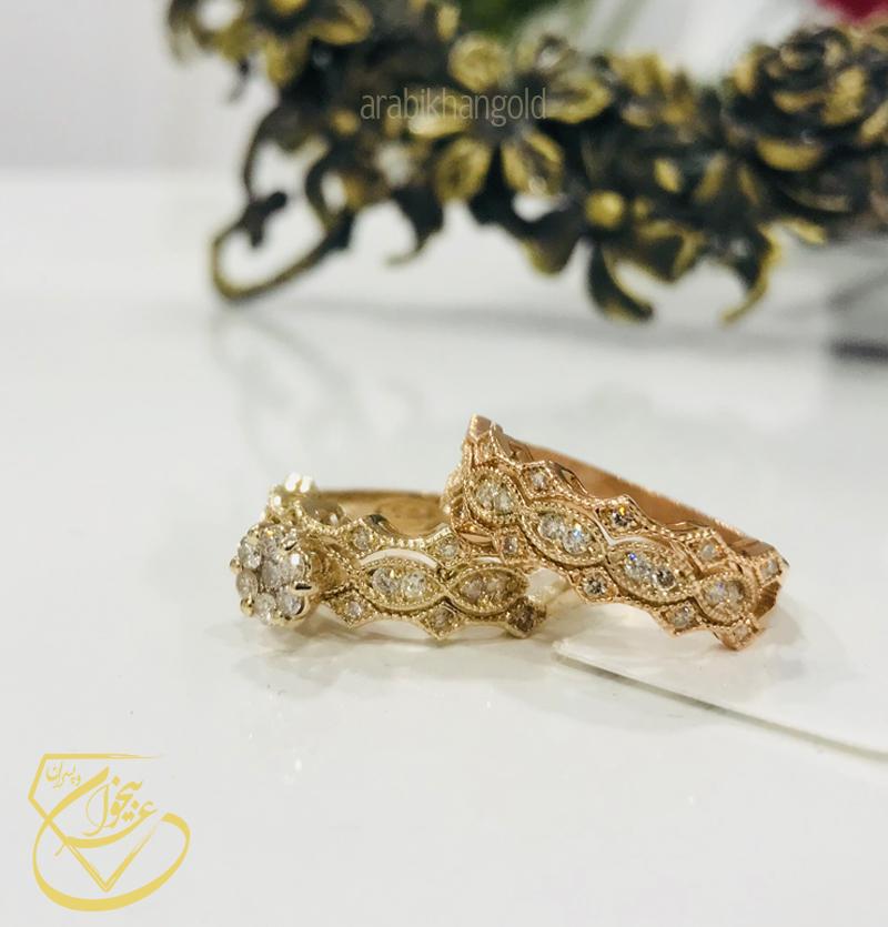 حلقه و پشت حلقه تاجی