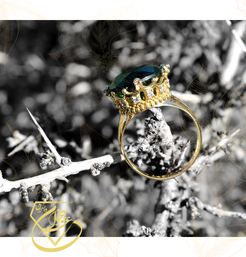 انگشتر سبز سلطنتی