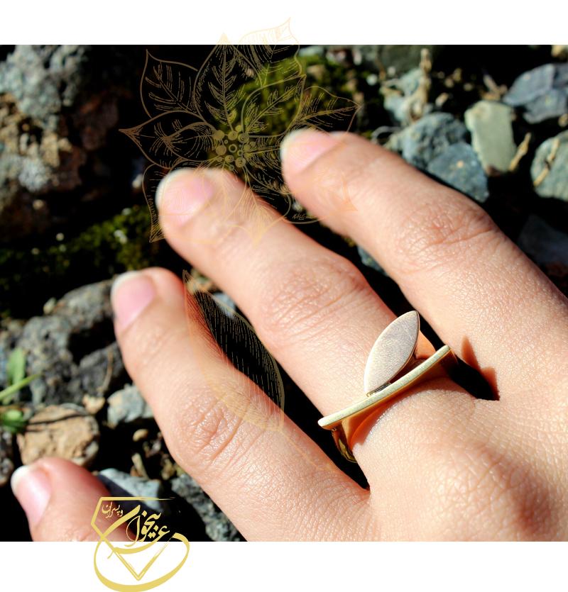 انگشترفانتزی برگ