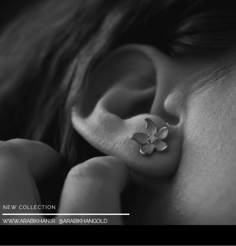گوشواره گلبرگ