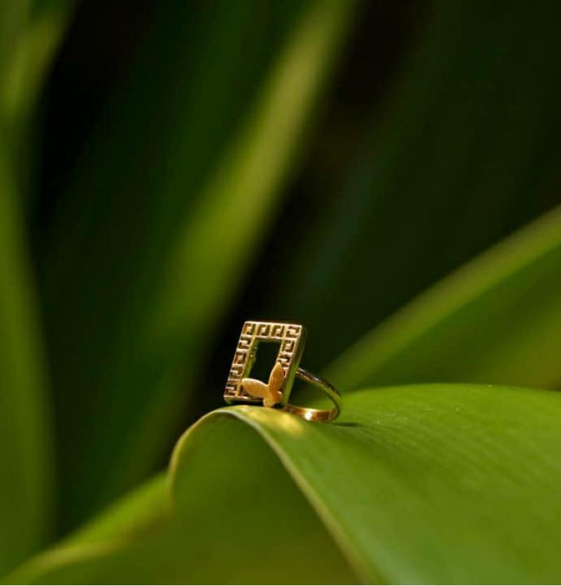 انگشتر پروانه ورساچ