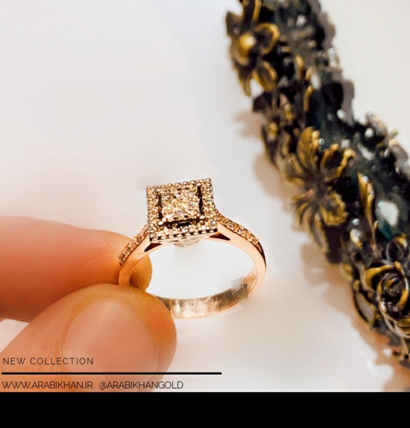 انگشتر جواهرنشان